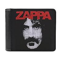 フランク・ザッパ Frank Zappa 財布 メンズ 二つ折り財布 大容量 ウォレット 小銭入れ付 ウォレットカード収納 PU本革 メンズ レディース シンプル 取り出しやすい 高級感 アンティーク調 プレゼントblack-フランク・ザッパ Frank Zappa1One size