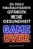 Hausaufgabenheft: Gymnasium Grundschule | jungen Teenager | MONTAG to FREITAG , Schulplaner schüler , Mit GAMER Cover| DIN A5 | 110 Seiten (German Edition)