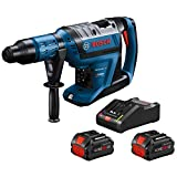 Bosch PROFACTOR 18V HITMAN GBH18V-45CK24 Hitman Connected-Ready 1-7/8 In. SDS-max Rotary Hammer Kit with BiTurbo Brushless Technology and (2) CORE18V 8.0 Ah PROFACTOR Performance Batteries