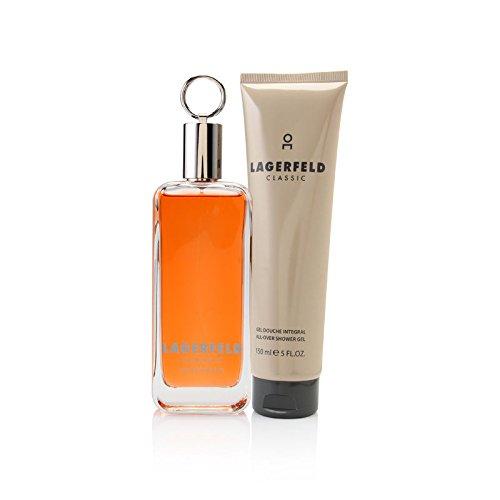Karl Lagerfeld Classic Geschenkset für Ihn (EdT 100ml + Duschgel/Shower Gel 150ml)