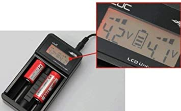 Efest LUC Charger with Digital LCD Battery Readout
