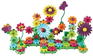 Learning Resources Gears! Gears! Gears! Build & Bloom Building Set, STEM Learning Toy, 116 Pieces,  Ages 4+