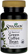 Swanson Full Spectrum Green Coffee Bean Capsules 400 mg 60-Count Estimated Price : £ 14,79
