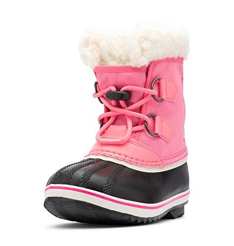 Sorel Yoot PAC Nylon Boot - Little Girls' Lollipop/Pink Glo, 8.0