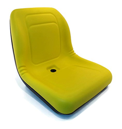 New Yellow HIGH BACK SEAT for John Deere Z-Track ZTR F620 F680 Lawn Mower