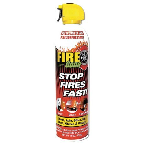 The Amazing MAX PRO Fire Gone Fire Suppressant