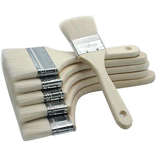 Pinceau brosse à poils doux ne perd pas l'outil de nettoyage de poussière de cheveux multifonction 3 pouces 4 pouces/pièce-2 pouces/pièce