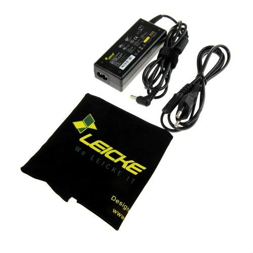 LEICKE Alimentatore Universale per Notebook Laptop Portatile 19V 3,42A 65W | Adattatore per Acer Liteon HIPRO Acer Extensa Aspire EMachines AP.06501.006 | Connettore 5,5 * 1,5mm