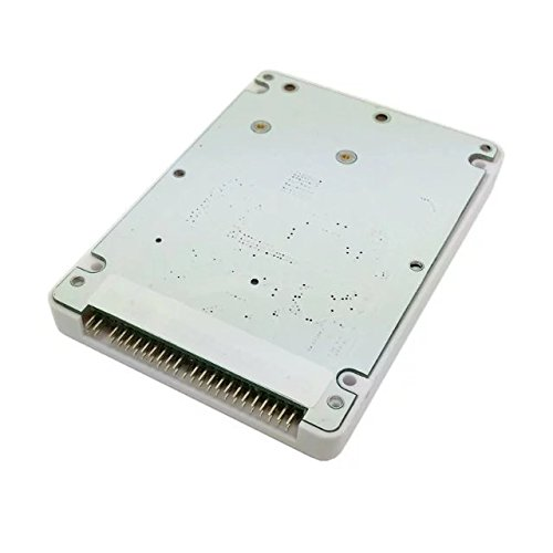 Goliton mSATA Mini PCI-E SSD SATA da 2,5 Pollici IDE 44pin Laptop Portatili Caso Disco Rigido Rivestimento Bianco