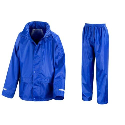 Result Core Regenanzug für Kinder (9-10-jährige) (Königsblau) 9-10 Jahre (132-140 cm),Königsblau