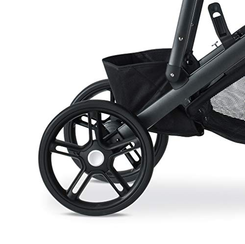 Britax B-Ready G3 Stroller, Pistachio Britax Versatile design, no flat rubber tires, and double seating with the same mobility as a single stroller Quick fold with 1 or 2 seats attached; 12 seating options when paired with the B Ready Bassinet, Britax Infant Car Seats, or B Ready Second Seat (all sold separately) Travel System ready: compatible with all Britax and BOB infant car seats 4