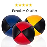 3er Set Diabolo Premium Jonglierbälle - 62mm Ø ✓ Jonglierball