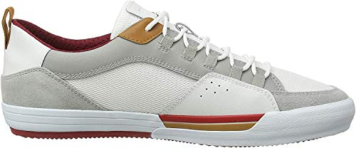 Geox Herren U KAVEN B Sneaker, Grau (Lt Grey/White C1303), 42 EU