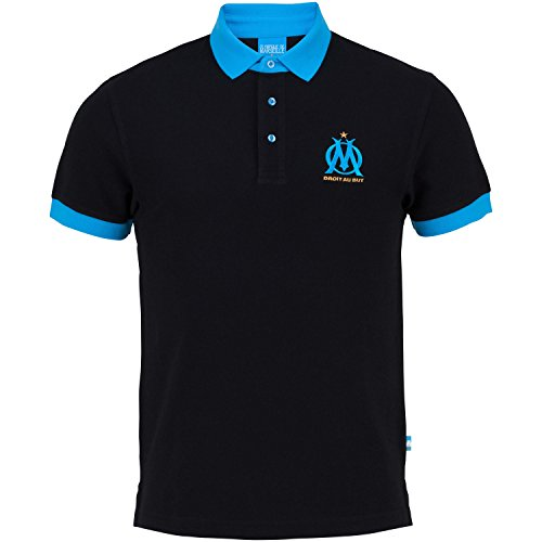 OLYMPIQUE DE MARSEILLE Polo Om - Collection Officielle Taille Adulte Homme M