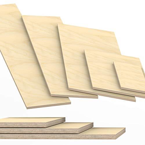 30mm Multiplex Zuschnitt Länge bis 200cm Multiplexplatten Zuschnitte Auswahl: 200x60 cm
