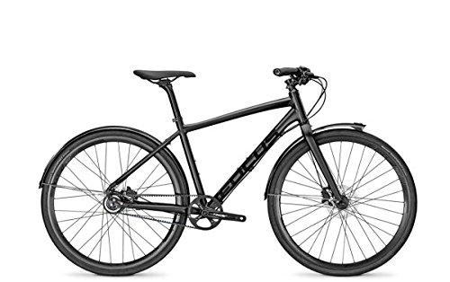Focus Planet Pro Plus Urban Bike 2016 (Magicblackmatt, 46)