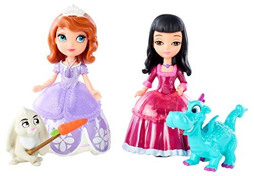 Disney Princesses - Bdk55 - Mini-poupée - Sofia Et Viviane Et Leurs Animaux