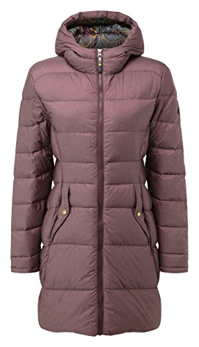 Sherpa Adventure Gear Damen YUL LHA Down Parka Coat, Ani, klein