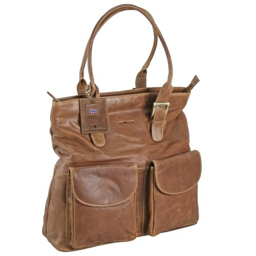 Greenburry Expedition Schultertasche Leder 40 cm