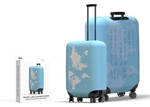 Funda para maleta de troncos de viaje   Explora el mundo con lista de comprobación de vacaciones  ...