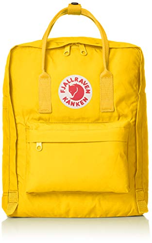 FJÄLLRÄVEN Unisex-Adult Kånken Carry-On Luggage, Warm Yellow, 38 cm
