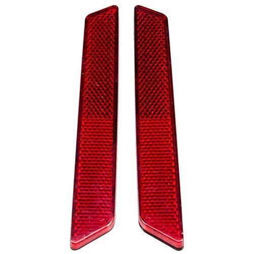 Ctzrzyt Inserciones de Reflectores de Alforjas Compatibles para Touring Electra Glide/Street Glide/Road Glide/Road King FLHR FLHX 2014-2020