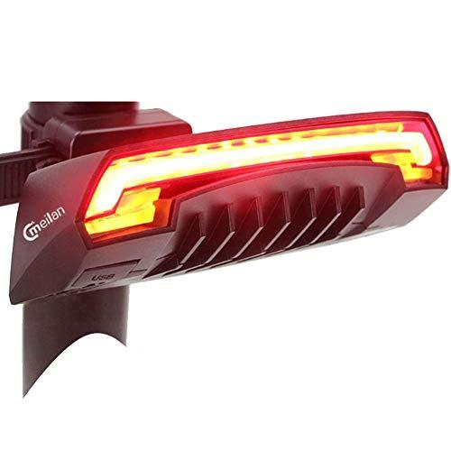 Domeilleur Meilan X5 - Luz inalámbrica para bicicleta (USB, recargable).