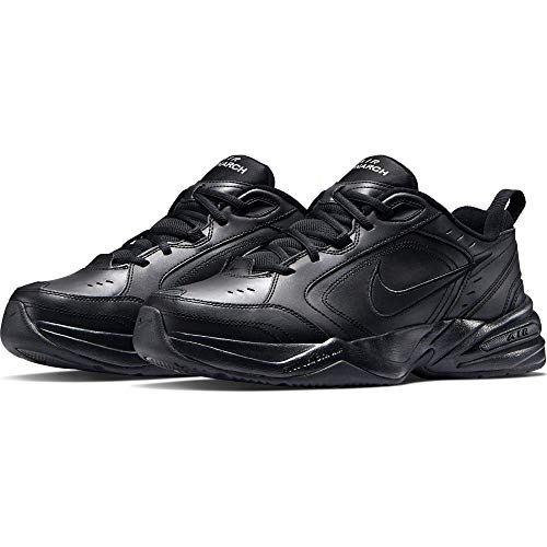 Nike Men's Air Monarch Iv Training Shoe, Chaussures de Fitness Homme, Noir (BlackBlack 001), 42 EU