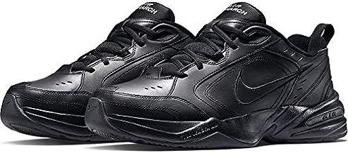 Nike Men's Air Monarch IV Cross Trainer, Black/Black, 12.0 Regular US