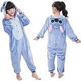Qaoping Ropa de Dormir Pijama Pijamas Infantiles Manta de Dibujos Animados de Animales de niños Ropa de bebé para niños y niñas Pijamas Disfraz