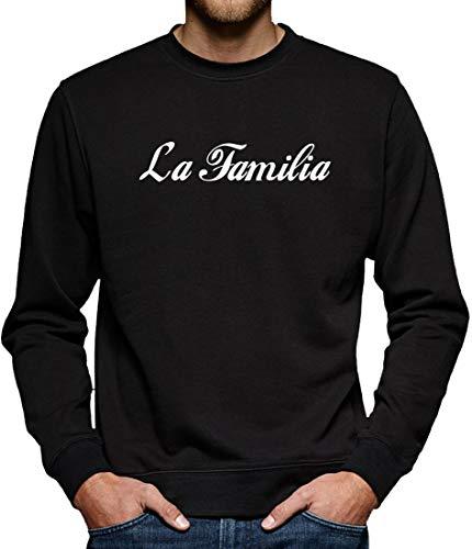 La Familia Sweatshirt Pullover Herren XXL Schwarz