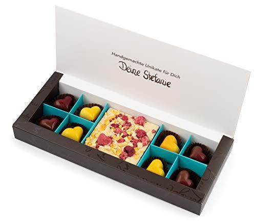 Valentinstag Pralinen Geschenk - handgefertigte Pralinen und Schokolade aus der Schokoladen-Manufaktur Bengelmann - ideales Valentinstagsgeschenk für Sie und Ihn