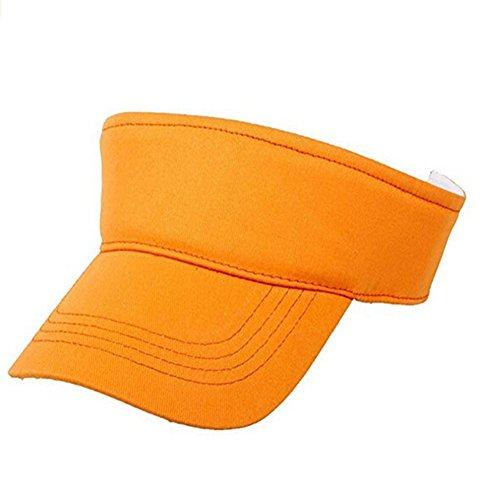 Casquette de Baseball pour Enfant,Fletion Chapeau de Soleil Les Vacances Activités en Plein Air (Orange)