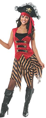 Rubie's Women's Gold Coast Pirate Adult Costume, Multi, Standard