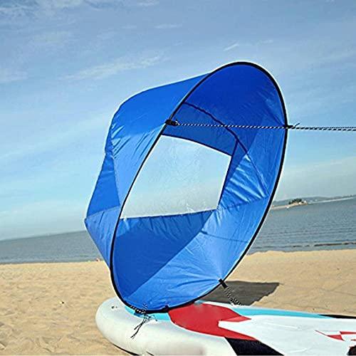 """Vela per Kayak 42\""""/108 cm, Kayak Wind Sail Paddle, SUP Paddle Board Vela per Barche con custodia, Downwind Wind Sail Kit per Canoe, Gommoni, Tandem, Barche da Spedizione"""