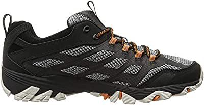 Merrell Men's Moab FST Hiking Shoe, Black, 11.5 M US
