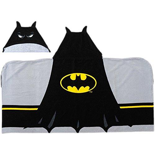 Batman Kapuzen Badetuch + Handtuch Set 2teilig