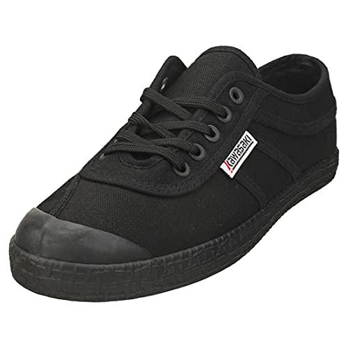 KAWASAKI Original Zapatillas Moda Hombres Negro Zapatillas Bajas