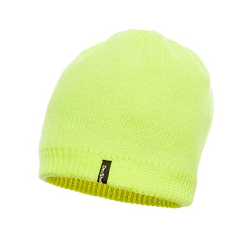 Jackal Outdoors DexShell Bonnet imperméable coupe-vent et respirant High Vis Yellow