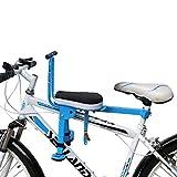 Sue-Supply Fahrrad Kindersitz, Frontmontage Fahrrad Kindersitz Für Kleinkinder, Faltbare & Ultra Baby Kinderfahrradträger Handlauf Für Mountainbike