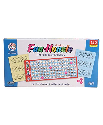 RATNA'S Family Game Fun HOUSIE Small with 120 Tickets