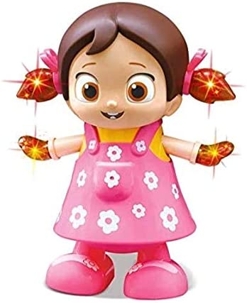 VIKASGIFTGALLERY Kid's Plastic Toys Walking Singing Dancing Reborn Doll Toys for Baby Girl
