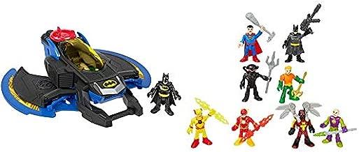 Fisher-Price Imaginext DC Super Friends Batwing & Imaginext DC Super Friends Super-Hero Showdown Figure Set [Amazon Exclusive]
