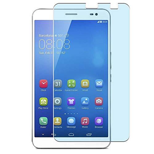 Vaxson 2 Stück Anti Blaulicht Schutzfolie, kompatibel mit Huawei MediaPad x1 / Honor x1 7d-501u 7d-503, Displayschutzfolie Anti Blue Light [nicht Panzerglas]
