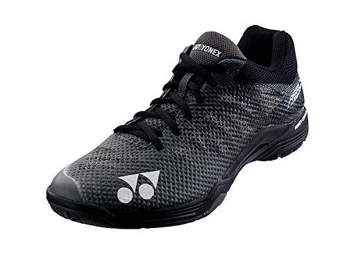 Yonex Zapato del Bádminton Aerus III Hombres Negro - Negro, 44 EU