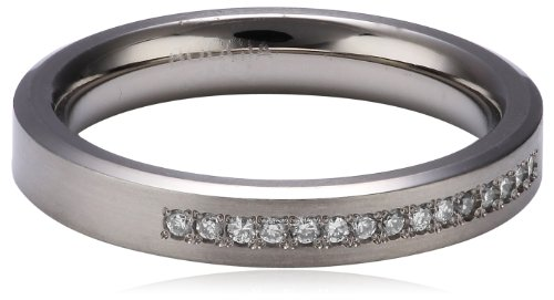Boccia Damen-Ring Titan 15 Brillianten 0,075 Gr.54 0120-0454