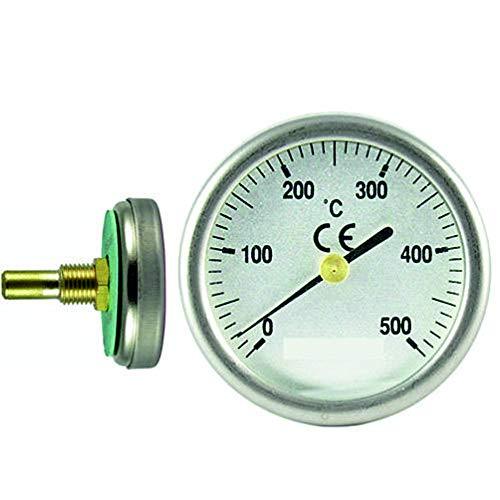 Termómetro para Puertas de Horno de leña, Escala de 0 a 50