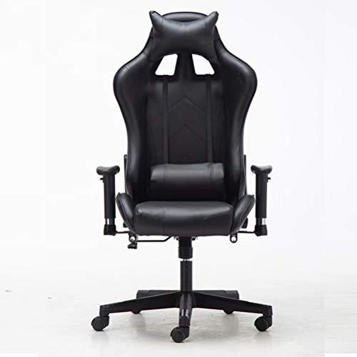 Ergonomische Executive Fauteuil, Gaming Chair, Bureaustoel met Opklapbare Armleuning, in Hoogte Verstelbare Draaistoel, PC-Stoel