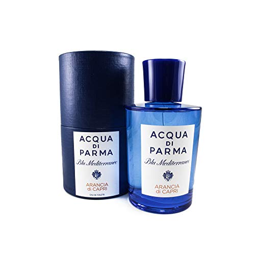 Acqua Di Parma Blue Mediterraneo Arancia Di Capri Eau De Toilette Spray for Men, 5 Ounce