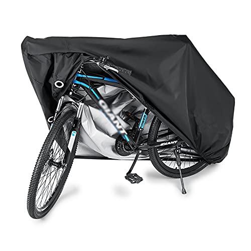 jihandong Funda Bicicleta Exterior Protección UV Anti-Lluvia Cubierta Protector al Aire Libre para Bicicletas de Carretera de Montaña(Dos tamaños) XL